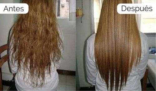 Cómo alisar el cabello naturalmente en casa