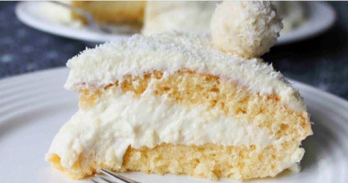 Receta Pastel de Coco y Leche Condensada sin Harina y con sólo 4 ingredientes (Delicia al Paladar)